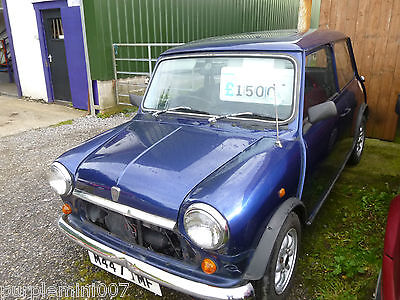 Rover mini tahiti project with MOT For Sale (1994)