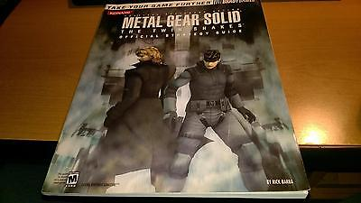 Metal Gear Solid The Twin Snakes Guide Guida Strategica Bradygames Eng