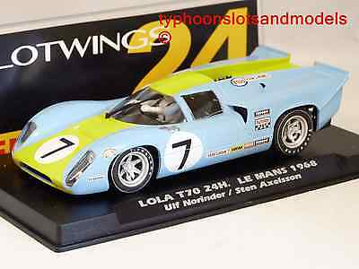 SLW004-02 Slotwings Lola T70 - 24h Le Mans 1968 - Ulf Norinder & Sten Axelsson