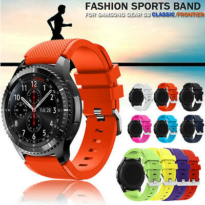 Fashion Sports Silicone Bracelet Strap Band For Samsung Gear S3 Classic Frontier