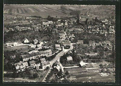 remarquable CPA Marmoutier, Vue vers le Nord