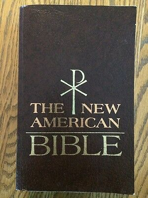 The New American Bible Soft Cover 1970 Catholic