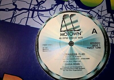 "DIANA ROSS Tenderness + 15 minute hits medley UK 12"" single 1980"