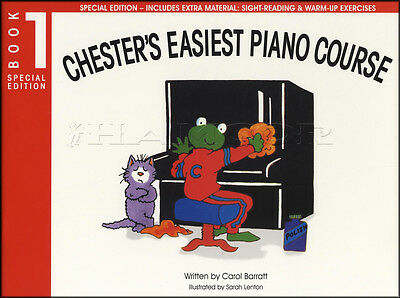 Chester's Easiest Piano Course Book 1 Sheet Music Learn How To Play Method