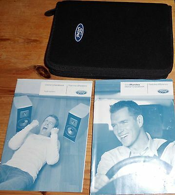 Ford Mondeo Owners Handbook + Wallet 2007-2008-2009-2010-2011