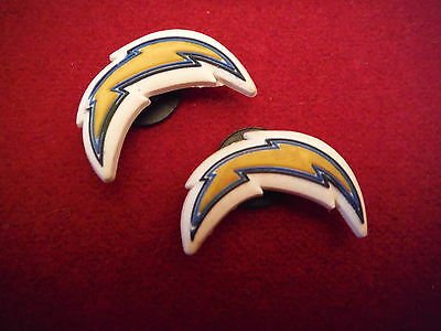 RARE SAN DIEGO CHARGERS JIBBITZ SHOE CHARMS for CROCS