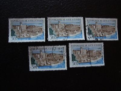COTE D IVOIRE - timbre yvert/tellier n° 273 x5 obl (A28) stamp (A)