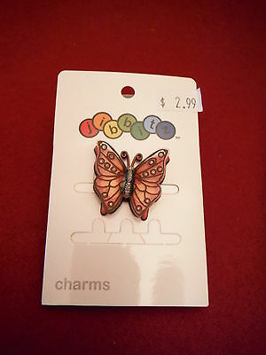 RARE BEAUTIFUL 3D BUTTERFLY JIBBITZ SHOE CHARMS for CROCS