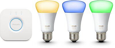 Philips HUE 3. GEN Ambiance LED Birne E27 Bridge RGBW 10W 16 Mio Farben, Smart