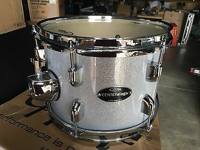 Pdp Center stage 10 X 7 Tom Metallic Silver