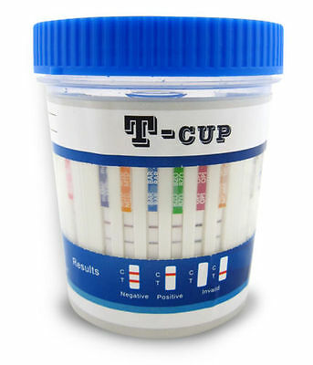(50) 12 Panel Drug Test ETG Cups - Test for 11 Drugs + Alcohol - FREE SHIPPING