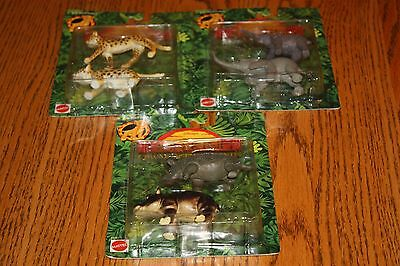 3 New on Card Disney Mattel Lion King Collectible Figures Circle of Life Friends