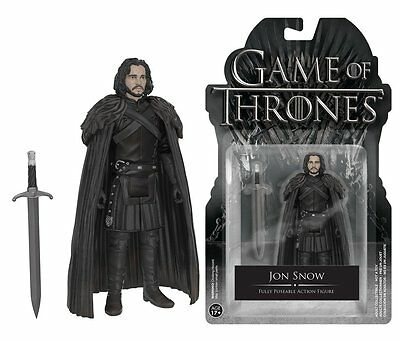 Funko Game Of Thrones Jon Snow Fully Poseable Action Figure Collectible Toy 7246