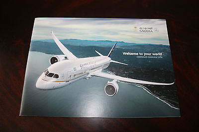 Marketing Brochure Saudia Boeing 787 Dreamliner Welcome To Your World