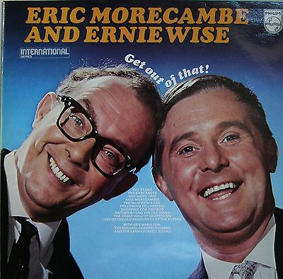 Morecambe & Wise - Get Out Of That! Eric & Ernie Rare Comedy Lp