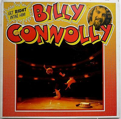 Billy Connolly Get Right Intae Him Comedy Lp