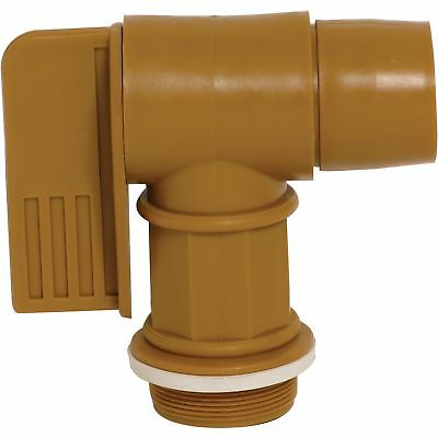 Wesco Polyethylene Drum Faucet - 2in. NPT Connection