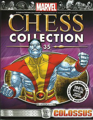 Magazine Marvel Chess Collection - Colossus 35