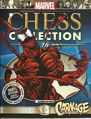 Magazine Marvel Chess Collection -  carnage 76