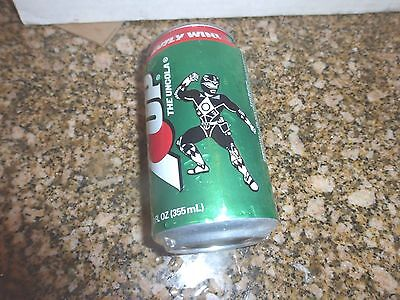Vintage Pull Tab 7 UP Soda Can MIGHTY MORPHIN POWER RANGERS THE MOVIE 1995 RARE!
