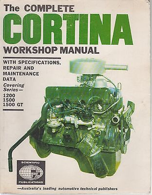 Ford Cortina Mk1 1200 1500 1500Gt Saloon ( 1962 - 1966 ) Owners Workshop Manual