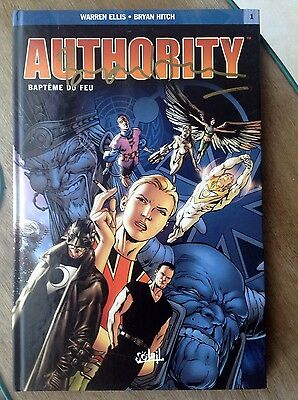 Authority - Baptême du feu - SIGNÉ PAR B.HITCH - Ellis Warren, Bryan Hitch