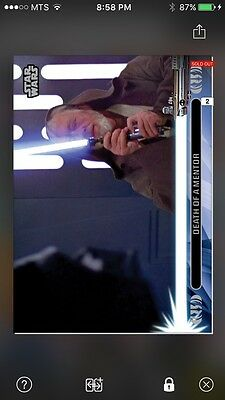 Topps Star Wars Digital Card Trader Jedi Legacy - 11L Insert
