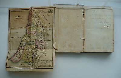1830 Book 2 Fold-Out Maps Canaan, Europe Asia Minor Voyages St. Paul