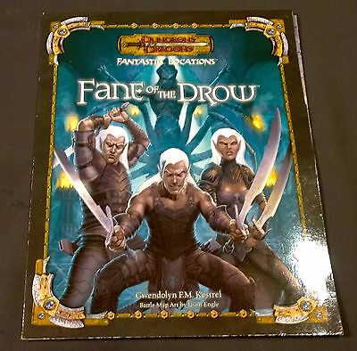Fantastic Locations Fane of the Drow Dungeons & Dragons   d20 D&D