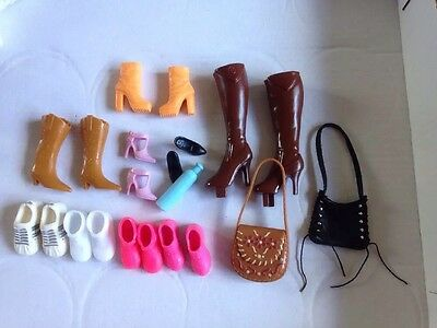 Barbie Shoes Boots Trainers and handbags