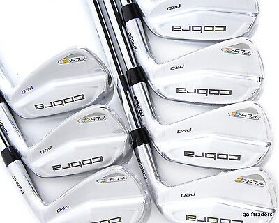 Cobra Fly-Z Pro Mb Forged Irons 4-Pw Kbs Tour 120 Stiff - New #c6290