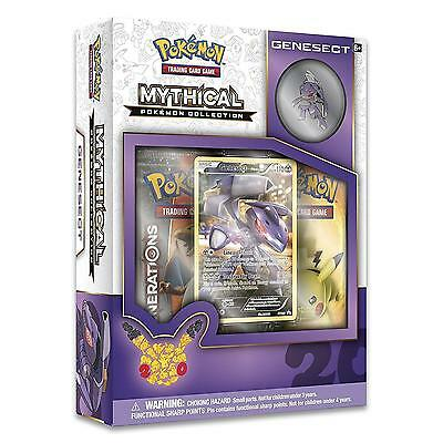 NEW Pokemon TCG: Mythical Collection Genesect Trading Card Game w/Pin Collect