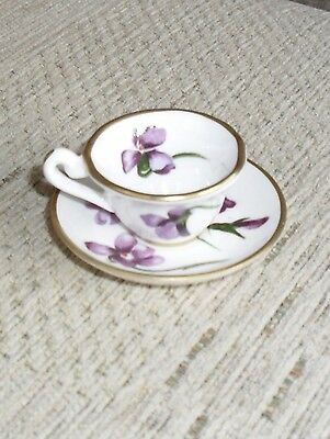 Lovely Hammersley Miniature Cup & Saucer