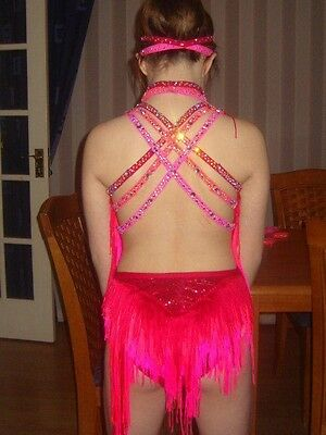 A stunning size 8 freestyle dance costume