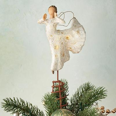 Willow Tree Song of Joy Angel Christmas Tree Topper by Susan Lordi