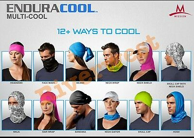 New Mission Athletecare Enduracool Cooling Towel for fitness, running& yoga