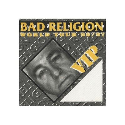 Bad Religion authentic VIP 1996 tour Backstage Pass