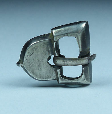 Ancient Roman Silver Buckle 2Nd Ad