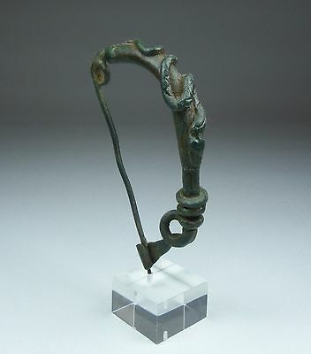 Extremely Rare Ancient Greek Bow Brooch With Snake Decoration 2Nd Bc • CAD $945.00