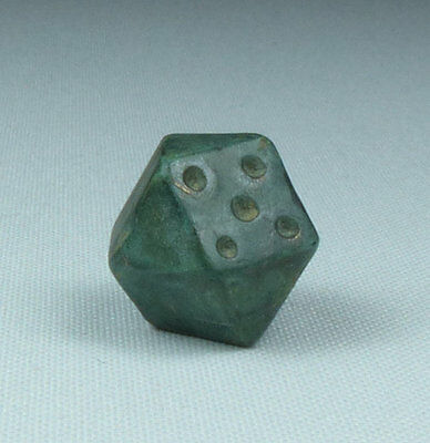 Ancient Roman Bronze Gaming Piece 2Nd Ad