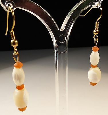 Beautiful Ancient Bead Earrings