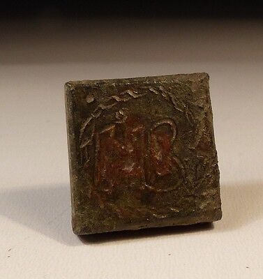 Nice Inscribed Byzantine Bronze Weight