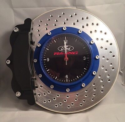 Ford Collection Ford Racing Brake Disc Wall Clock