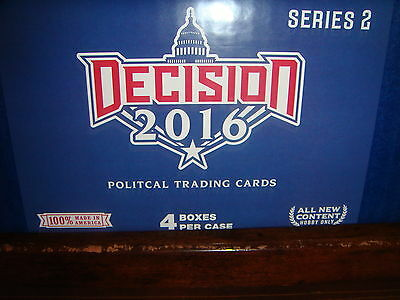 2016 Decision Series 2 Hobby 4 Boxes in a Sealed Case LOADED EXTREMELY LIMITED