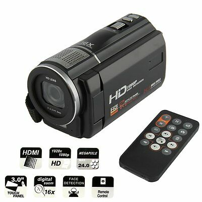 HD 1080P 3.0'' 24MP Wifi LCD Screen Digital Video Camera Camcorder DV 16X Zoom W