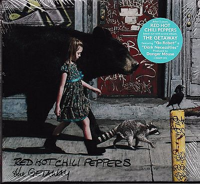 The Getaway by Red Hot Chili Peppers (CD, Jun-2016, Atlantic (Label)) New Sealed