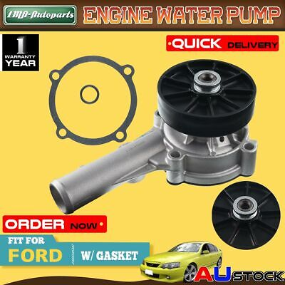 For Ford Falcon EF EL AU XG XH NF Fairmont+Ute with pulley Water Pump 6cyl 4.0L