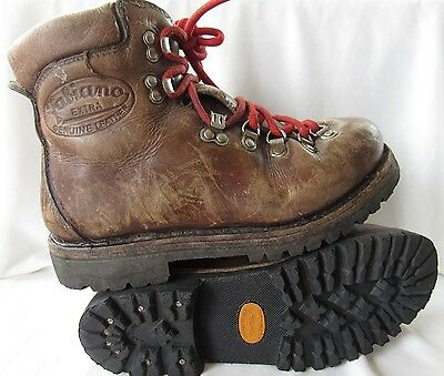 Mens Fabiano Extra Leather Hiking Mountaineering Boots