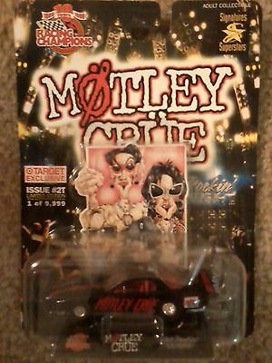 Motley Crue ~ Racing Champions ~ Pontiac Dragster ~ Target Exclusive