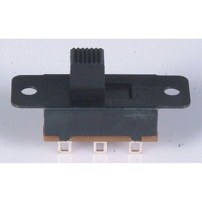 Miniature DPDT Panel Mount Switch SS0821 100V 300mA Slide Switch